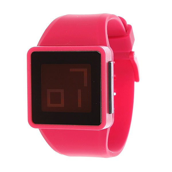 Фото #1: Часы Nixon The Newton Digital Pink