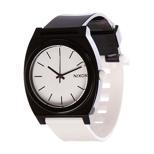 Часы Nixon The Time Teller P Black/White