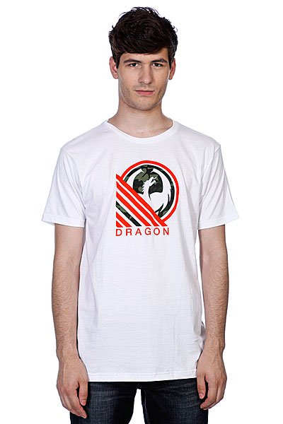 Футболка Dragon Hunter Tee F12 White<br><br>Цвет: белый<br>Тип: Футболка<br>Возраст: Взрослый<br>Пол: Мужской