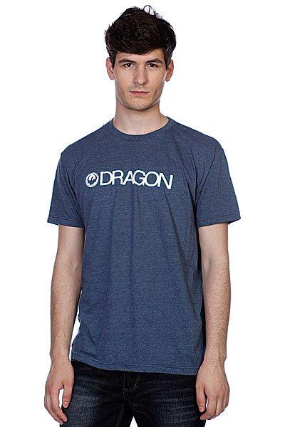 Футболка Dragon Trademark F12 Indigo Heather<br><br>Цвет: синий<br>Тип: Футболка<br>Возраст: Взрослый<br>Пол: Мужской