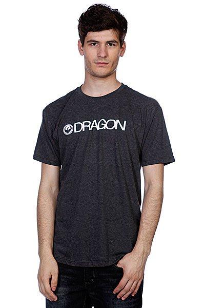 Футболка Dragon Trademark F12 Charcoal Heather<br><br>Цвет: серый<br>Тип: Футболка<br>Возраст: Взрослый<br>Пол: Мужской