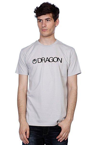 Футболка Dragon Trademark F12 Silver Grey<br><br>Цвет: серый<br>Тип: Футболка<br>Возраст: Взрослый<br>Пол: Мужской