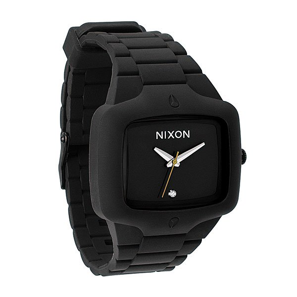 Часы Nixon The Rubber Player Black часы nixon corporal ss matte black industrial green