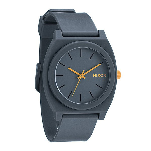 Часы Nixon The Time Teller P Matte Steelgray