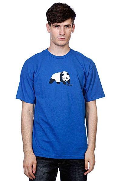 Футболка Enjoi Original Panda Royal<br><br>Цвет: синий<br>Тип: Футболка<br>Возраст: Взрослый<br>Пол: Мужской