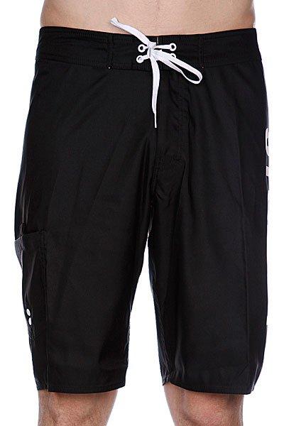 Пляжные мужские шорты Stussy Triple Logo Trunk Black<br><br>Цвет: черный<br>Тип: Шорты пляжные<br>Возраст: Взрослый<br>Пол: Мужской