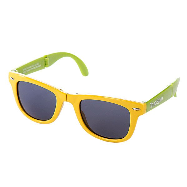 Очки True Spin Folding Sunglasses Yellow/Green