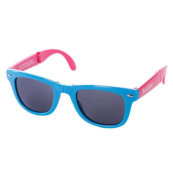 Очки True Spin Folding Sunglasses Blue/Pink