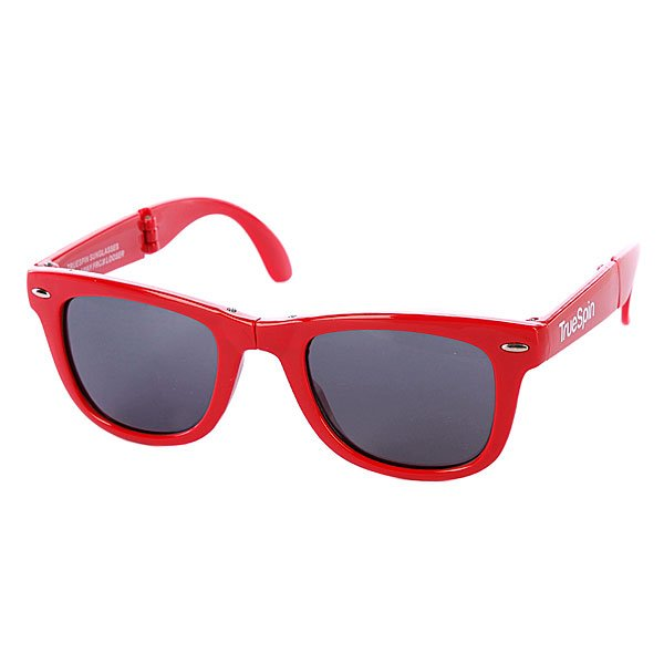 Очки True Spin Folding Sunglasses Red