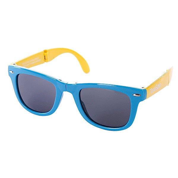 Очки True Spin Folding Sunglasses Blue/Yellow