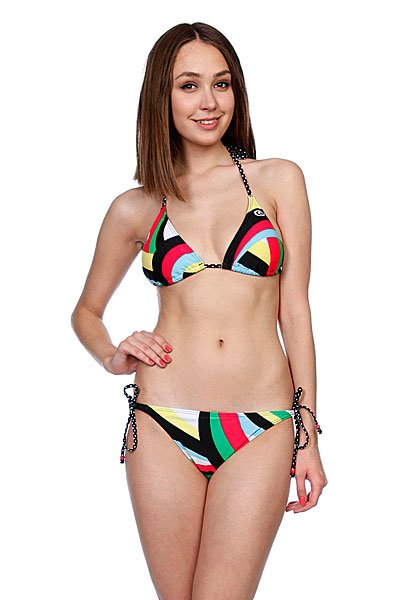 ��������� ������� Rip Curl Nalu Triangle Setsolid Black