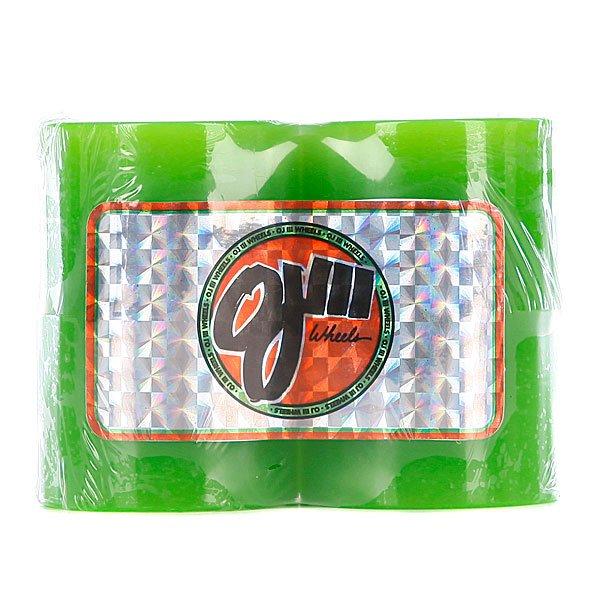 Колеса для скейтборда для лонгборда OJ III Hot Juice Mini Hot Juice Green 78a 55 mmКомплект из 4-х колес Диаметр:55мм<br><br>Тип: Колеса для лонгборда
