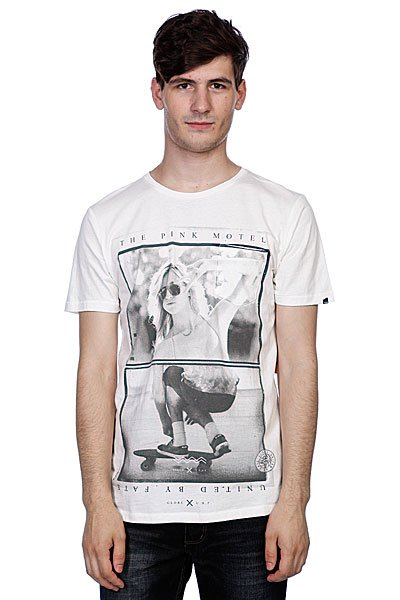 Футболкa Globe Bantam Girl Tee Dirty White  цена и фото