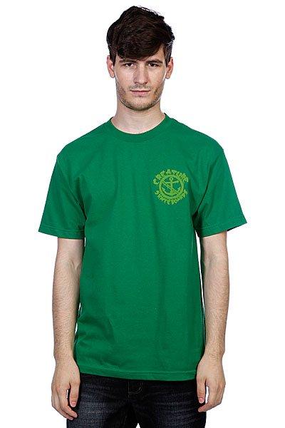 Футболка Creature Ftw Kelly Green<br><br>Цвет: зеленый<br>Тип: Футболка<br>Возраст: Взрослый<br>Пол: Мужской