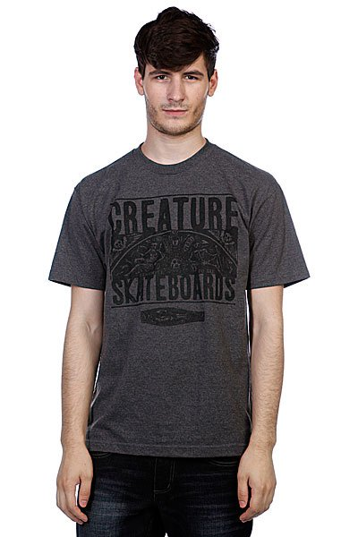 Футболка Creature Remember To Die Charcoal Heather consenting to die