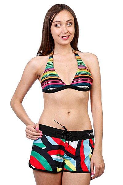 Бюстгальтер женский Rip Curl Ocean Stripes Halter Solid Black