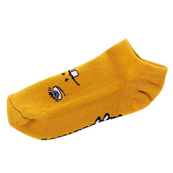 Носки низкие Toy Machine Betard Fooser Ankle Mustard<br><br>Цвет: желтый<br>Тип: Носки низкие<br>Возраст: Взрослый<br>Пол: Мужской