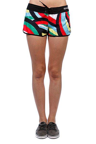 Шорты пляжные женские Rip Curl Nalu Boardshort Solid Black<br><br>Цвет: белый,черный,синий,красный,зелен<br>Тип: Шорты пляжные<br>Возраст: Взрослый<br>Пол: Женский