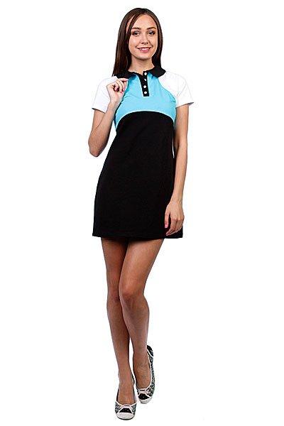 Платье женское Trailhead Wd 01 BlueКороткое платье приталенного силуэта с рукавчиком можно одеть как в офис так и на прогулку – оно выгодно подчеркнет вашу фигуру и чувство стиля.Характеристики:Короткий рукав. Приталенный крой.Горловина на пуговицах.<br><br>Цвет: голубой,черный<br>Тип: Платье<br>Возраст: Взрослый<br>Пол: Женский