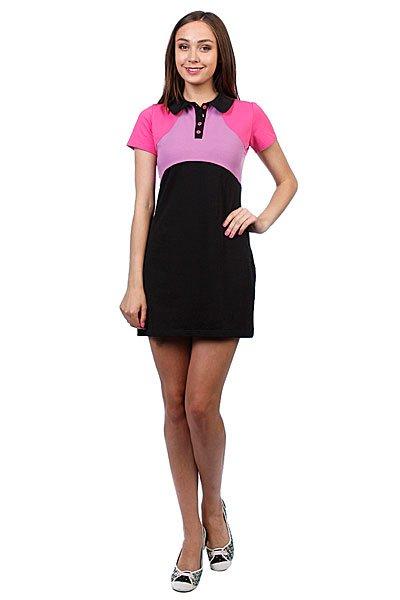 Платье женское Trailhead Wd 01 LilacКороткое платье приталенного силуэта с рукавчиком можно одеть как в офис так и на прогулку – оно выгодно подчеркнет вашу фигуру и чувство стиля.Характеристики:Короткий рукав. Приталенный крой.Горловина на пуговицах.<br><br>Цвет: розовый,черный<br>Тип: Платье<br>Возраст: Взрослый<br>Пол: Женский