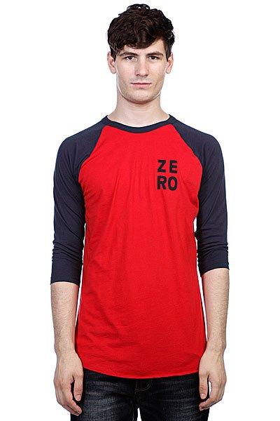 Лонгслив Zero Numero Jersey Red/Navy<br><br>Цвет: красный<br>Тип: Лонгслив<br>Возраст: Взрослый<br>Пол: Мужской