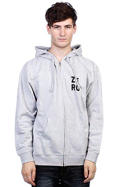 Толстовка Zero Numero Grey<br><br>Цвет: серый<br>Тип: Толстовка классическая<br>Возраст: Взрослый<br>Пол: Мужской