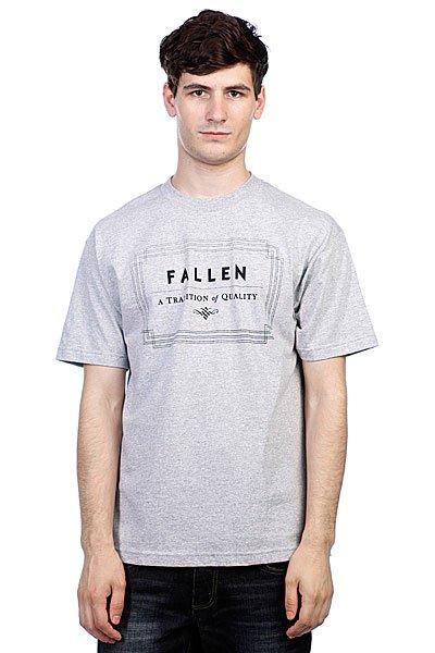 Футболка Fallen Verte Heat Grey/Black<br><br>Цвет: серый<br>Тип: Футболка<br>Возраст: Взрослый<br>Пол: Мужской