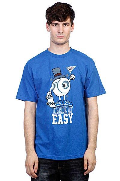 Футболка Fallen Wheelman Royal Blue<br><br>Цвет: синий<br>Тип: Футболка<br>Возраст: Взрослый<br>Пол: Мужской
