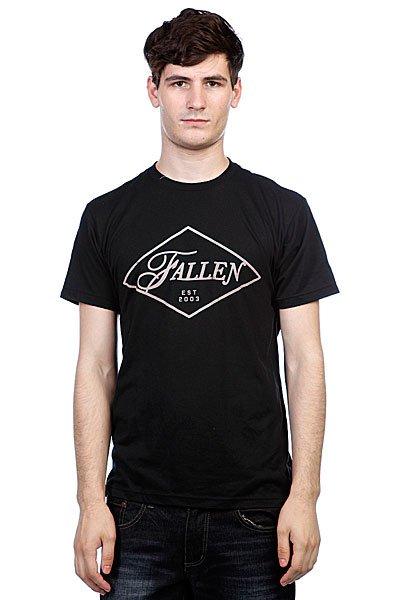 Футболка Fallen Graft Premium Black<br><br>Цвет: черный<br>Тип: Футболка<br>Возраст: Взрослый<br>Пол: Мужской
