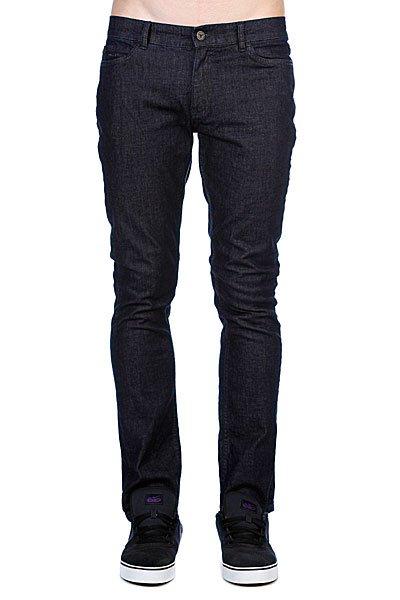 Джинсы узкие мужские зауженные Fallen Winslow Denim Pant Indigo Rinse шорты джинсовые fallen winslow short indigo black