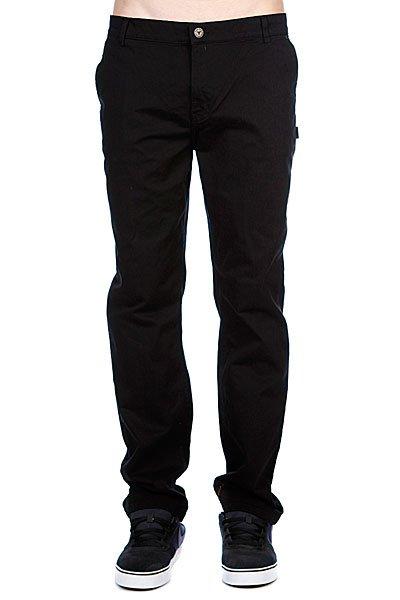 Штаны прямые Fallen Byron Chino Black шорты джинсовые fallen byron chino short sky blue