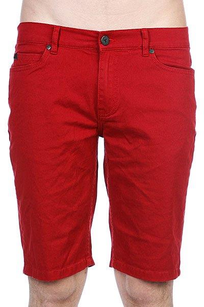Джинсовые мужские шорты Fallen Winslow Short Washed Red<br><br>Цвет: красный<br>Тип: Шорты джинсовые<br>Возраст: Взрослый<br>Пол: Мужской