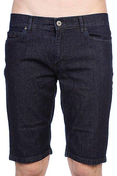 Джинсовые мужские шорты Fallen Winslow Short Indigo Rinse шорты джинсовые fallen byron chino short sky blue