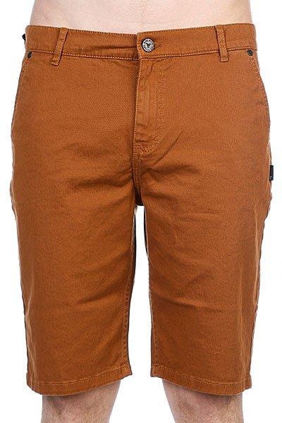 Классические мужские шорты Fallen Byron Chino Short Khaki<br><br>Цвет: коричневый<br>Тип: Шорты классические<br>Возраст: Взрослый<br>Пол: Мужской