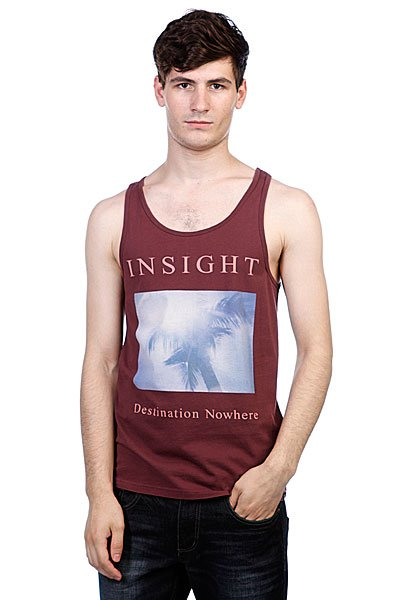 Майка Insight Destination Tank Merlot
