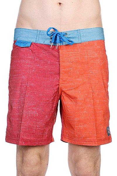 Пляжные мужские шорты Insight Multi Unstatic Mid Deadbeet<br><br>Цвет: оранжевый,голубой,бордовый<br>Тип: Шорты пляжные<br>Возраст: Взрослый<br>Пол: Мужской