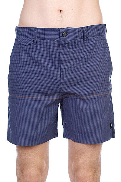 Пляжные мужские шорты Insight Vector Rain Walkshort Black Out Blue<br><br>Цвет: синий<br>Тип: Шорты пляжные<br>Возраст: Взрослый<br>Пол: Мужской