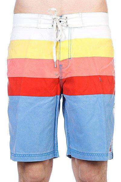 Пляжные мужские шорты Insight Retro Daze Artline Blue