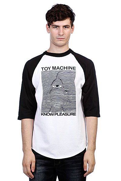 Футболка Toy Machine Toy Division Black/White футболка toy machine destroy deck black