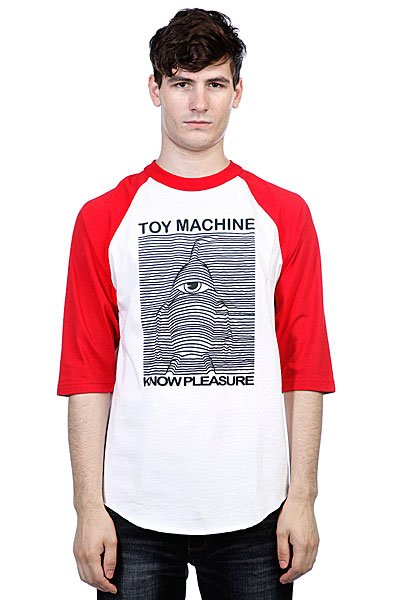 Футболка Toy Machine Toy Division Red/White футболка toy machine destroy deck black