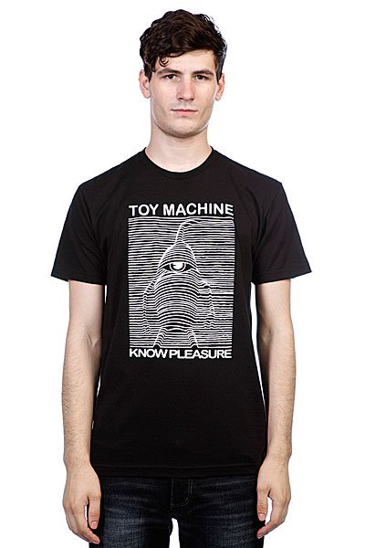 Футболка Toy Machine Toy Division Black футболка toy machine blood river navy heather