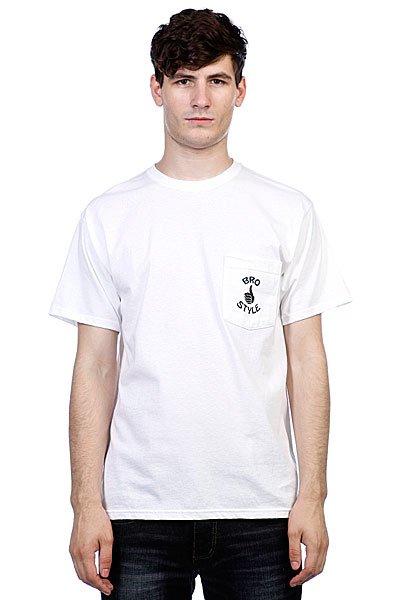 Футболка Bro Style Pocket White