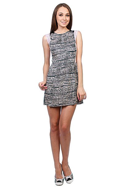 Платье женское Insight Lost Union Dress Floyd Black Proskater.ru 2539.000