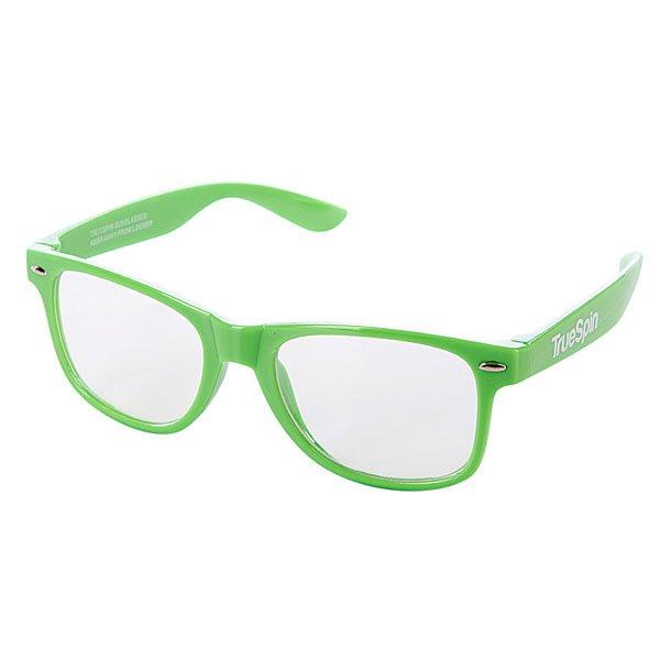 Очки True Spin Neon GreenСолнцезащитные очки от немецкого бренда True Spin, выполненные в классическом силуэте. В качестве основного материала используется пластик.Технические характеристики: Оправа из пластика.Петли из нержавеющей стали.Ударопрочные поликарбонатные линзы.100% защита от ультрафиолета.<br><br>Цвет: зеленый<br>Тип: Очки<br>Возраст: Взрослый<br>Пол: Мужской