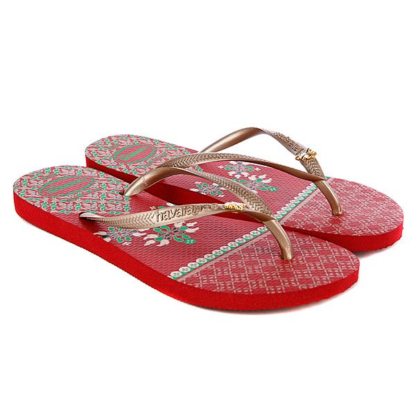 �������� ������� Havaianas Slim Royal Red