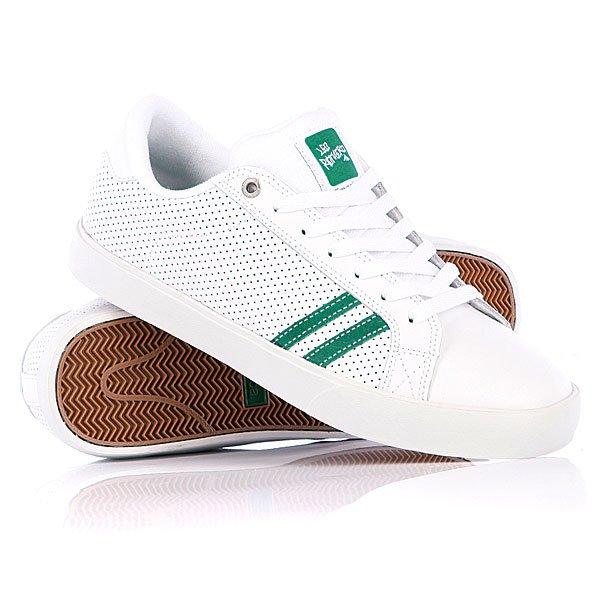 Кеды кроссовки низкие Emerica The Leo White/Green
