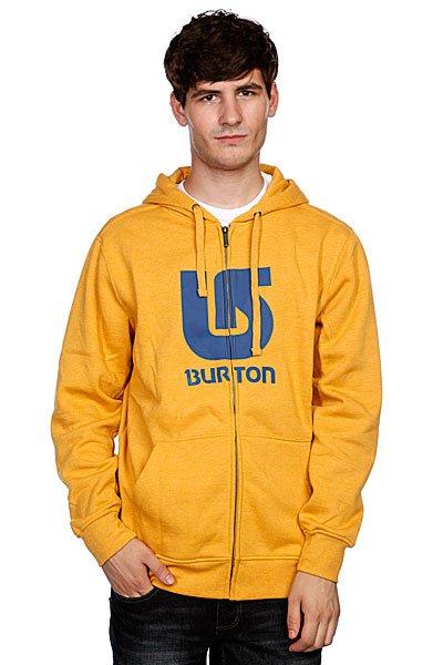 Толстовка Burton Mnsogo Vert Fz Heather Saffron<br><br>Цвет: желтый<br>Тип: Толстовка классическая<br>Возраст: Взрослый<br>Пол: Мужской