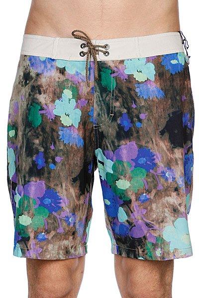 Пляжные мужские шорты Analog Flores Brdshort Blue<br><br>Цвет: черный,фиолетовый,коричневый,голубой<br>Тип: Шорты пляжные<br>Возраст: Взрослый<br>Пол: Мужской