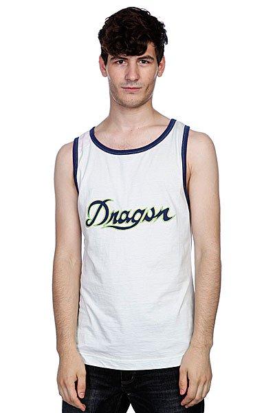 Майка Dragon Piston Jersey S11 Ss Grey<br><br>Цвет: белый,синий<br>Тип: Майка<br>Возраст: Взрослый<br>Пол: Мужской