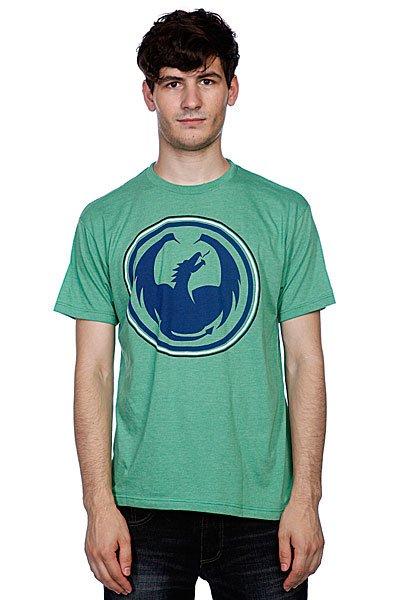 Футболка Dragon Icon High Mark Kelly Heather<br><br>Цвет: зеленый<br>Тип: Футболка<br>Возраст: Взрослый<br>Пол: Мужской